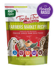 Farmers Market Recipe Freeze Dried Raw Dog Food