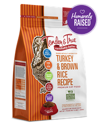 Tender & True Turkey & Brown Rice Recipe for Cats